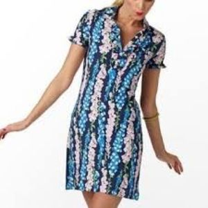 Lilly Pulitzer Foxy Foxglove Carolyn Dress Sz S
